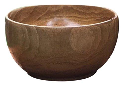 ALA TEAK Wood Unbreakable Kitchen Soup Salad Cup Bowl Plate