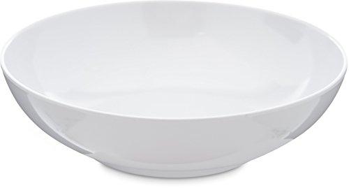 Carlisle 4381402 Epicure Soup  Salad Bowl 20 Oz White Set of 12