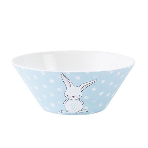 CHOOLD Cute Porcelain Cartoon Soup Bowl Salad Bowl Rice Bowls Cereal Bowl Noodle Bowl Dinner Bowl for Kitchen Restaurant 6Rabbit