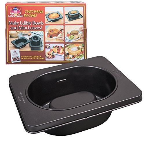 The Original Better Baker Edible Food Bowl Maker- Bake Extra Large Dessert Dinner Bowls or Muffins