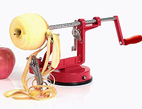 E-shop Heavy Duty Apple Peeler, Slicer & Corer, Suction Base