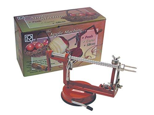 R & M Industries 5920 Apple Peeler/corer/slicer, Red