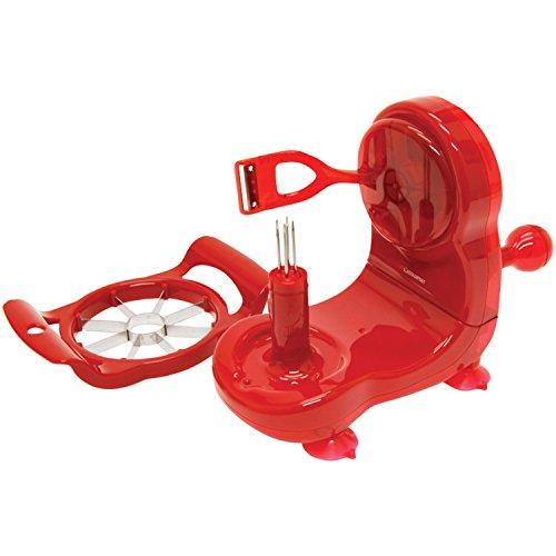 Starfrit 092999-006-red1 Apple Peeler, Red