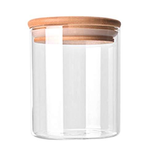 Liobaba Kitchen Storage Bottle Portable Size Store Food Ingredient Candy Biscuit Refrigerator Classification Storage Jar