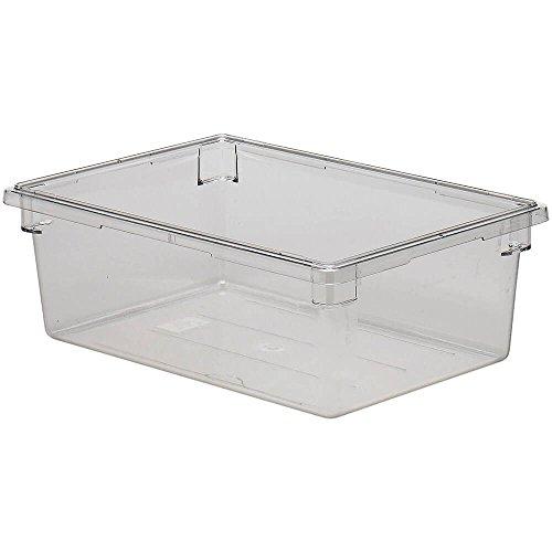 Cambro 182612CW135 Camwear 17 Gallon 18 x 26 Clear Food Storage Box - 4  CS
