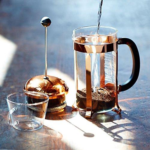 Bodum CHAMBORD Coffee Maker French Press Coffee Maker Copper 34 Ounce