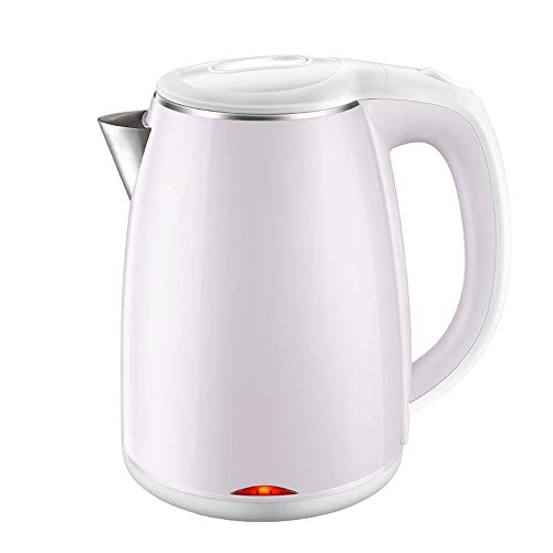 HHFZH Stainless Steel Electric Kettle 800W Quiet Fast Boil Kettle 12L Cordless Tea Kettle Boil Dry Protection Automatic Shut-Off