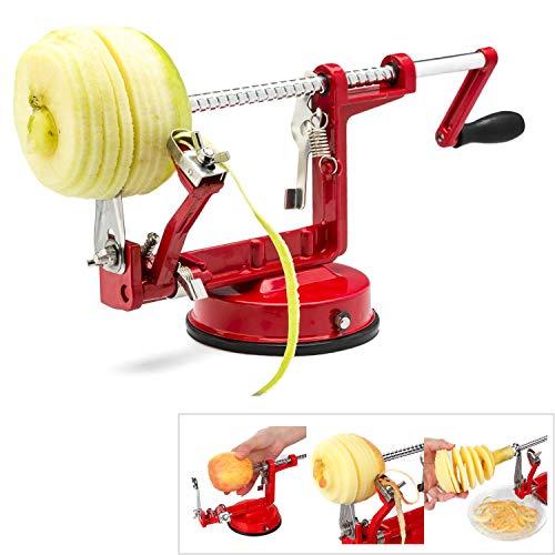thebestshop99 Style 3 in 1 Apple Potato Fruit Vegetable Dicer Slinky Machine Peeler Fruit Cutter Slicer Kitchen Stainless Steel Tool