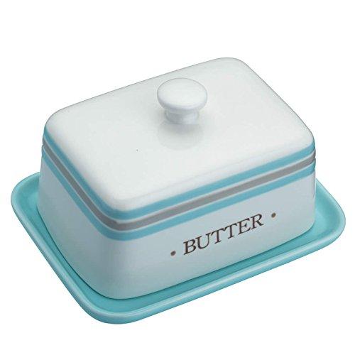 15 x 9cm Hen House Ceramic Butter Dish