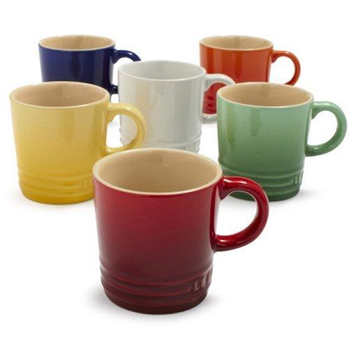 Le Creuset Espresso Mug PG8005-0025  White Set of 2