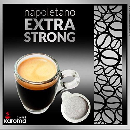 150 Karoma Easy Serve Espresso Pods Napoletano Extra Strong Paper Pods