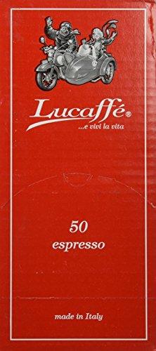 50 Lucaffe Mr Exclusive 100 Arabica ESE Espresso Pods
