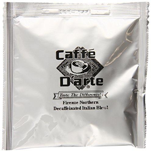 Caffe Darte Decaf Italian Espresso Blend 025-Ounce Single Serve Espresso Pods Pack of 120