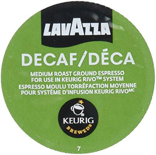 Lavazza Espresso Decaf Keurig Rivo Pack 18 Count