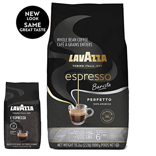 Lavazza Espresso Barista Whole Bean Coffee 100 Arabica Medium Espresso Roast 22-Pound Bag