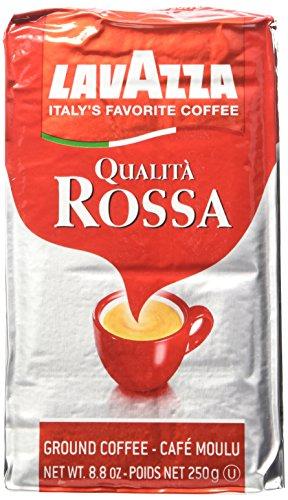 Lavazza Italian Qualita Rossa Ground Espresso 1 case  20 x 88 oz bricks
