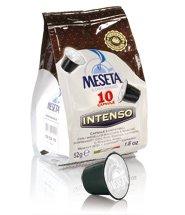 Nespresso Compatible Capsules 60 Meseta Intenso Capsules of Gourmet Italian Espresso Compatible with Nespresso Machine