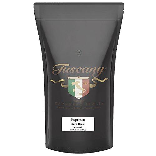 Tuscany Italian Espresso Dark Roast Ground 5 Pound