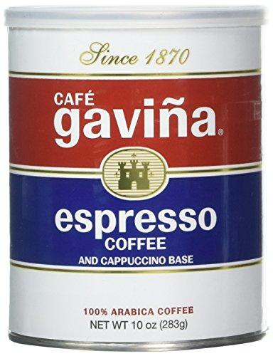 Gaviña Espresso Ground Coffee 10 Ounce Can