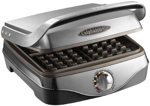 Calphalon No Peek Waffle Maker
