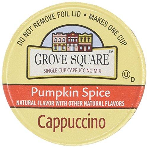 Grove Square Pumpkin Spice Cappuccino K-Cups 48 Count