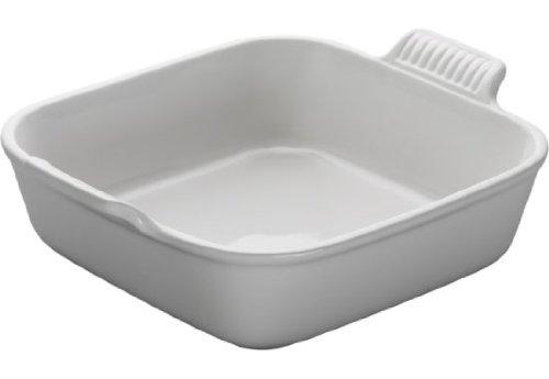 Le Creuset Heritage Stoneware 5 Square  Dish White