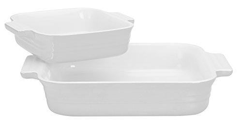 Le Creuset Square Dish Bonus Bonus White