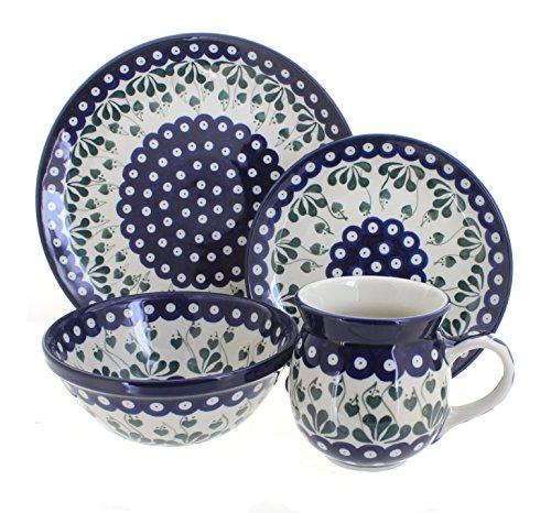 Polish Pottery Alyce 16 Piece Dinner Set