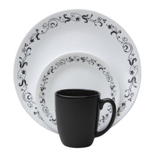 Corelle Livingware 16-Piece Dinnerware Set Garden Getaway Service for 4