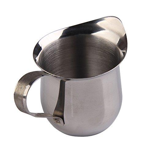 Vanpower Stainless Steel Milk Cream Waist Shape Cup Jug Coffee 8oz