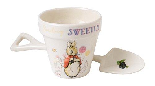 Beatrix Potter Flopsy Egg Cup And Spoon Set