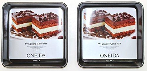 Oneida 9 Square Cake Pan 2 - Pack