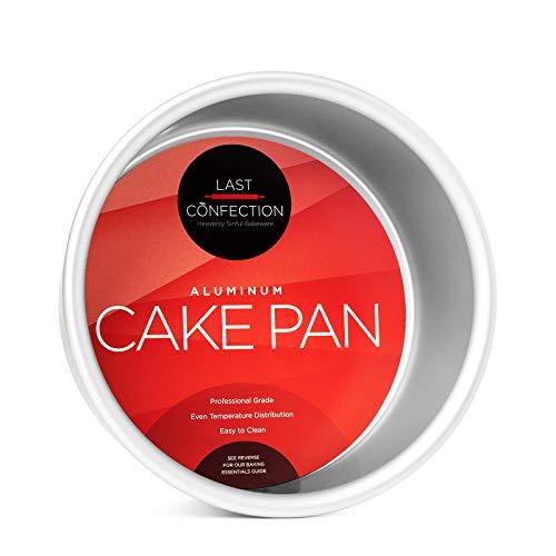 Last Confection 6 x 3 Deep Round Aluminum Cake Pan - Professional Bakeware