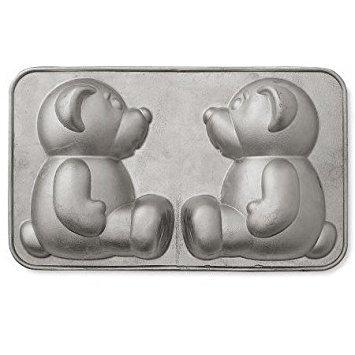 Nordic Ware Cast Aluminum Build-A-Bear Cake Pan
