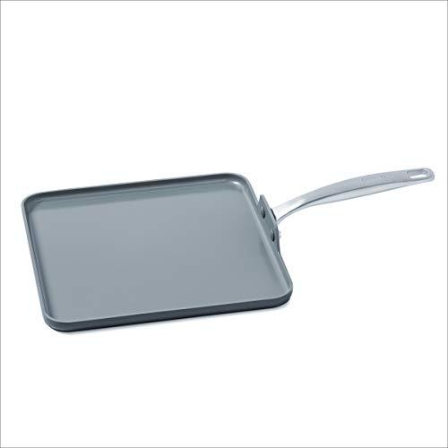 GreenPan Chatham 11 Ceramic Non-Stick Square Griddle Grey - CC000124-001