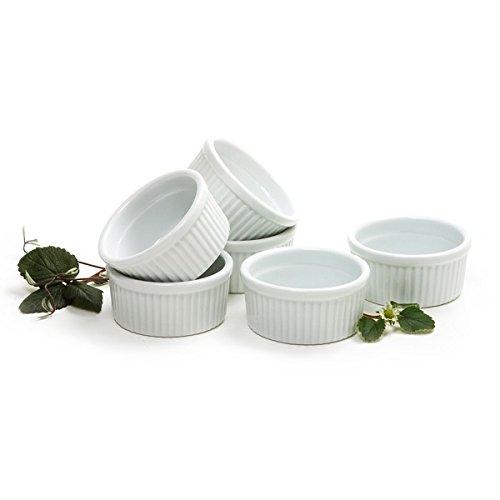 Norpro 4oz120ml Porcelain Ramekins Set of 6