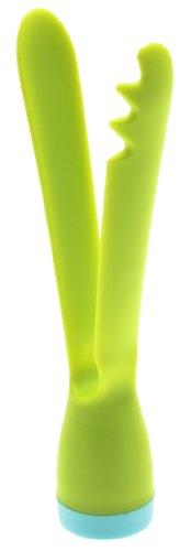 Kotobuki Swing Serving Tongs, Green