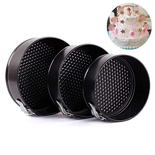 Springform Pan Non-Stick Cheesecake PanAFYBL Cake Pan Leakproof Baking Pan Bakeware 3pcs77887 for Pressure Cooker