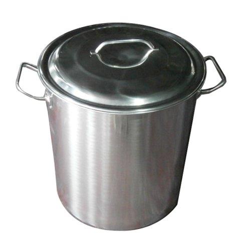 Hophia Stainless Steel Stock Pot Cookware - 40-Quart