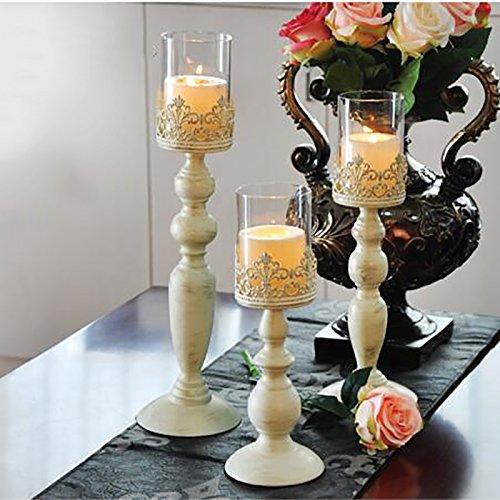 Candlestick candle holder candelabrum romantic candlelight dinner props iron decoration european retro weddingA small candlestick-G