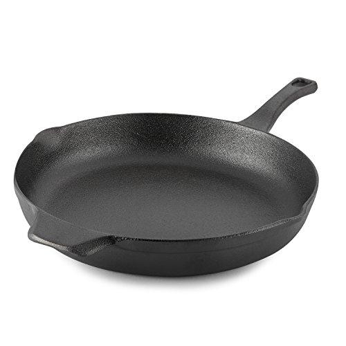 Calphalon Pre-Seasoned Cast Iron Cookware Skillet 12-inch