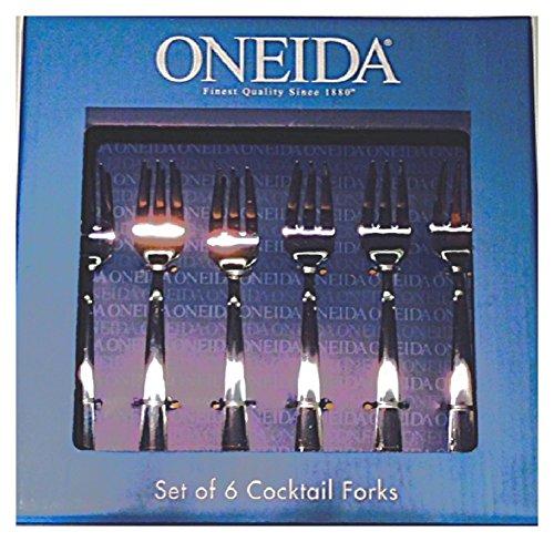 Oneida Set of 6 Cocktail Utensils Cocktail Forks