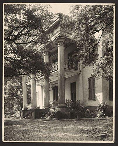 Historic Photos 1938 Photo Stanton Hall Natchez Adams County Mississippi Location Adams County Mississippi Natchez