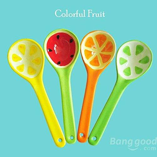 Bazaar Lovely Fruit Watermelon Spoon Japanese Style Creative Ceramic Tableware Ice Cream Spoon