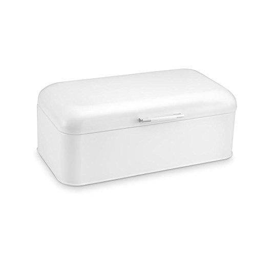 Polder Kth-916201 Retro Bread Box/bin, White