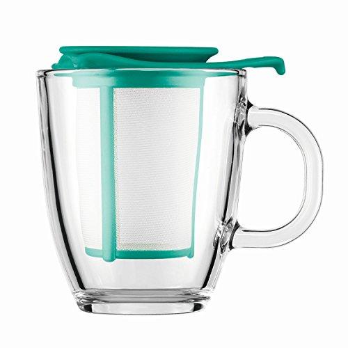 Bodum Yo Yo - Mug and Tea Strainer Set - 035l12oz - Turquoise 159