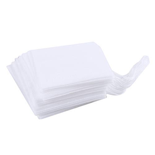 GOMYIE Drawstring Non-Woven Empty Tea Bags Disposable Empty Loose Leaf Tea Filter Bags L