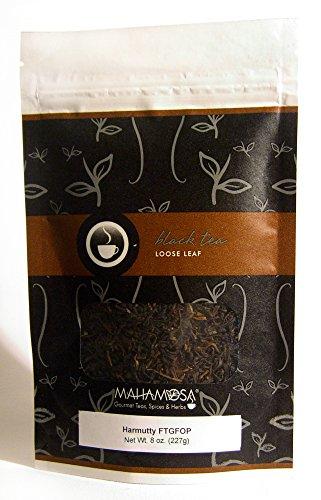 Mahamosa Assam Indian Black Tea and Tea Filter Set 8 oz Harmutty FTGFOP Black Tea 100 Loose Leaf Tea Filters Bundle- 2 itemsTea Ingredients Single estate Indian Assam region black tea