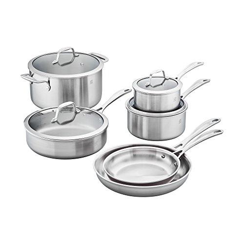 ZWILLING JA Henckels 64090-001 FBA_64090-001 Stainless Steel Cookware Set
