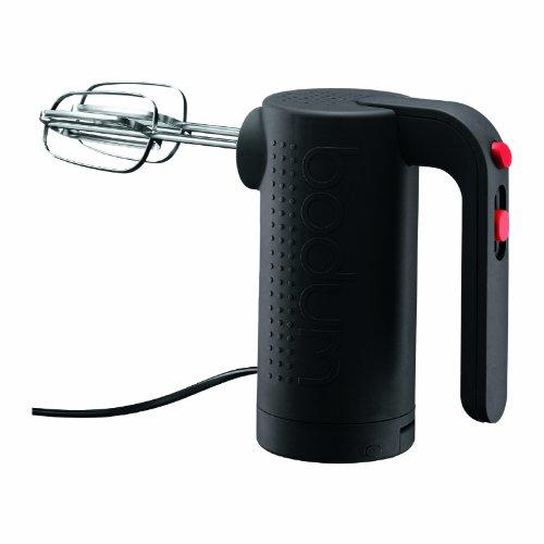 Bodum Bistro Electric 5 Speed Hand Mixer, Black